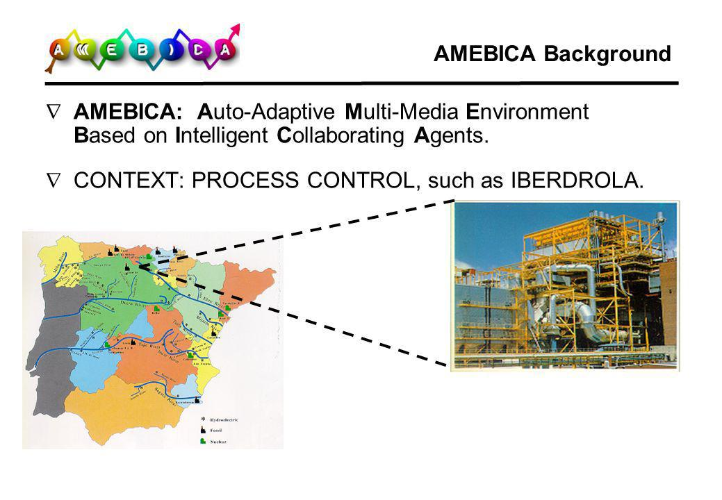 AMEBICA Process/Interface Independence The Process Model Agent (PMA) monitors the state of the process, and maintains an updated view of process conditions.