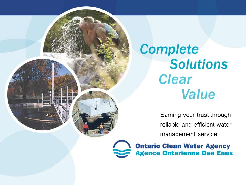 Earning your trust through reliable and efficient water management service.