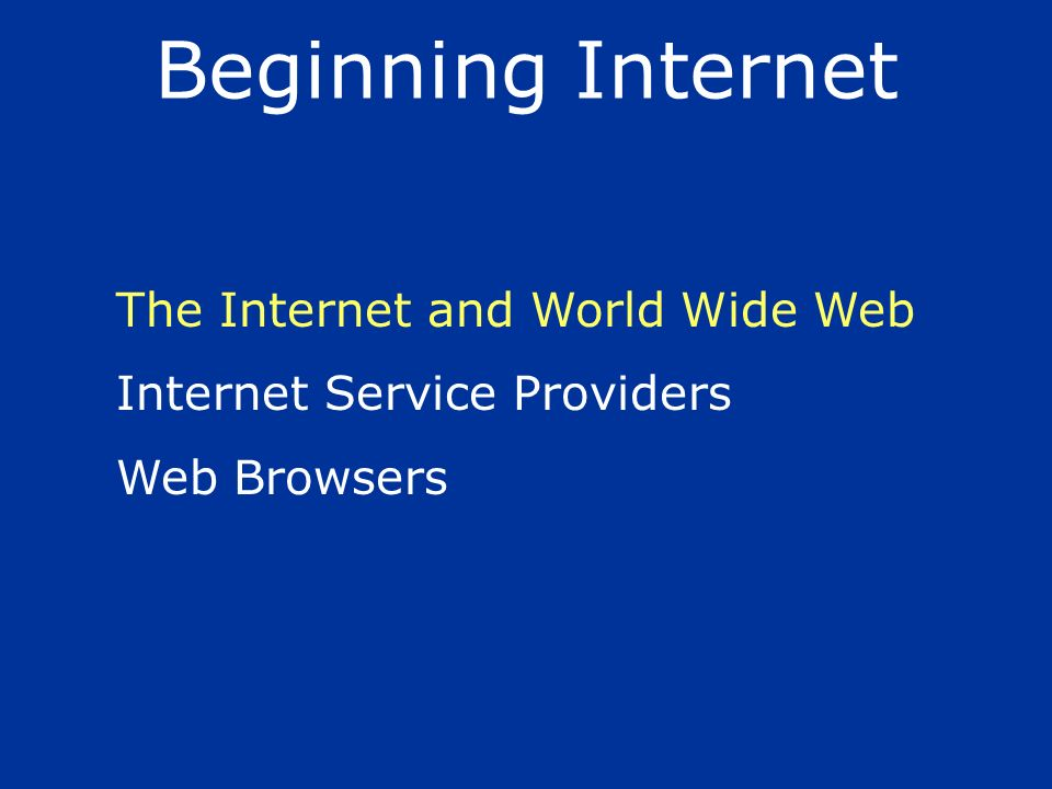 High speed Internet access through DSL (Digital Subscriber Line) or Cable require a special modem, usually supplied by the ISP.