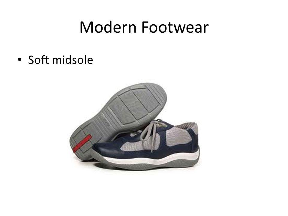 Modern Footwear Soft midsole