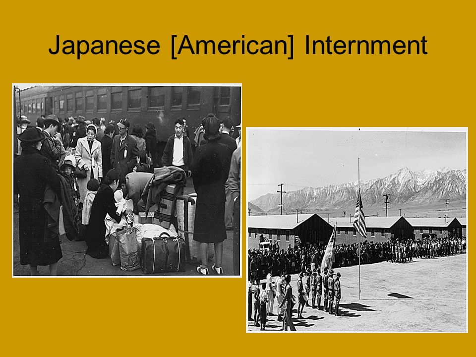 Japanese [American] Internment
