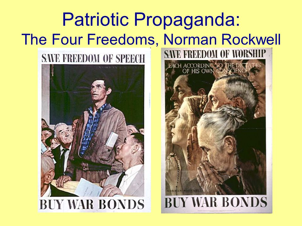 Other focuses of U.S. Propaganda During WWII