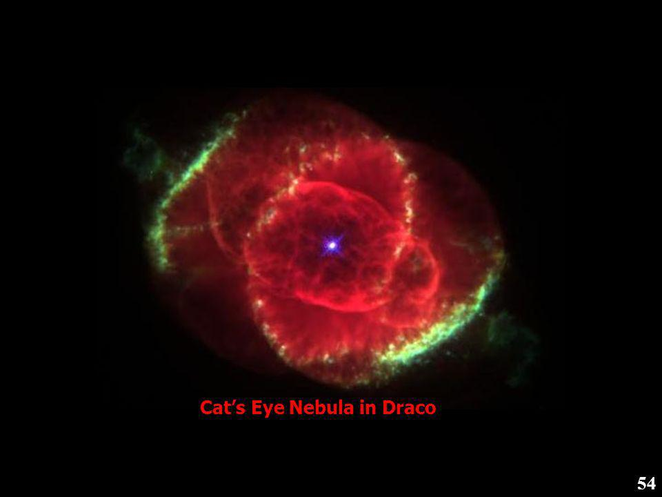 53 Ring Nebula in Lyra (Relatively young nebula because core is not yet visible)
