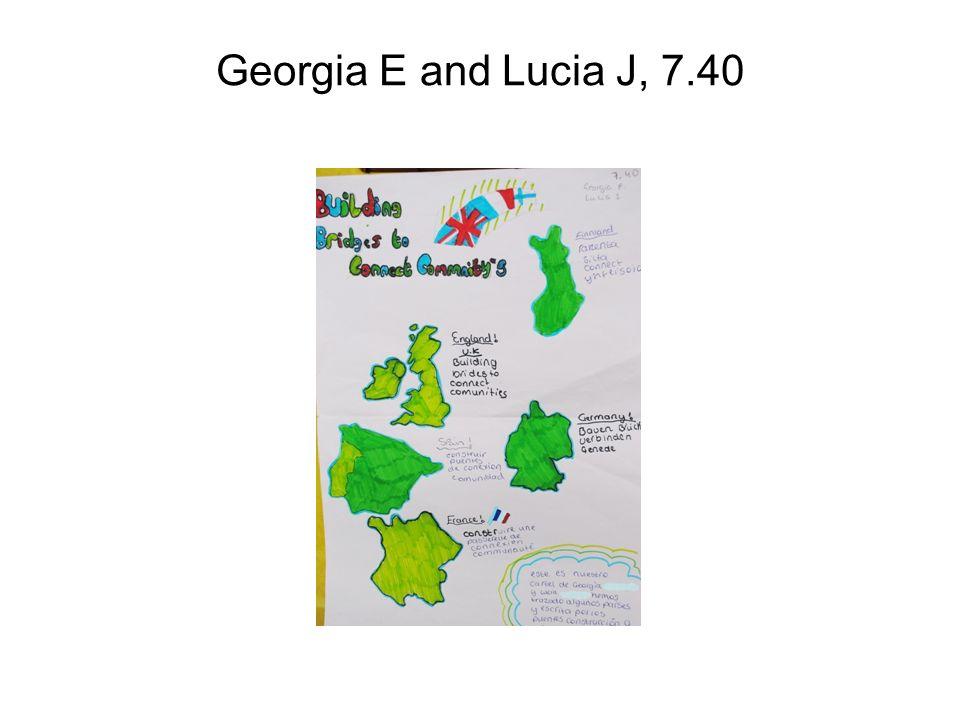 Georgia E and Lucia J, 7.40