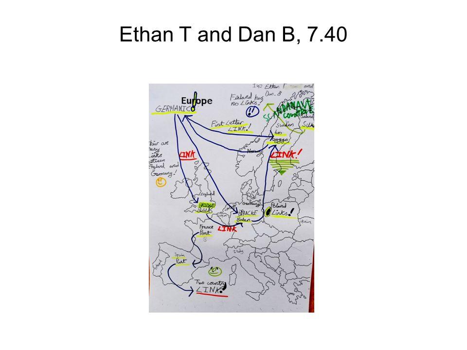 Ethan T and Dan B, 7.40