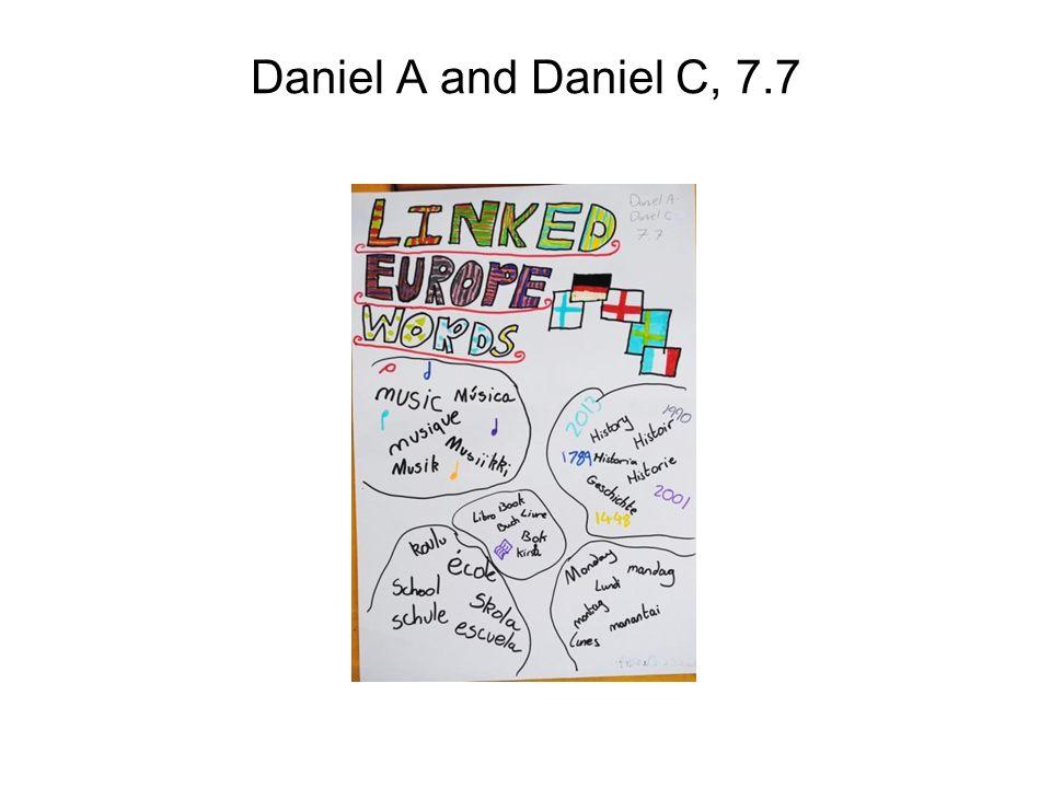 Daniel A and Daniel C, 7.7