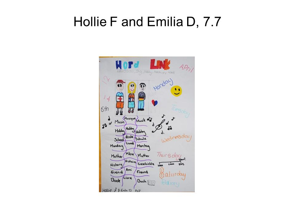 Hollie F and Emilia D, 7.7