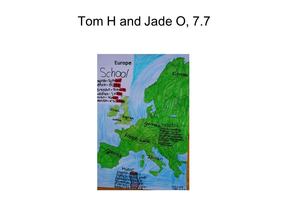 Tom H and Jade O, 7.7