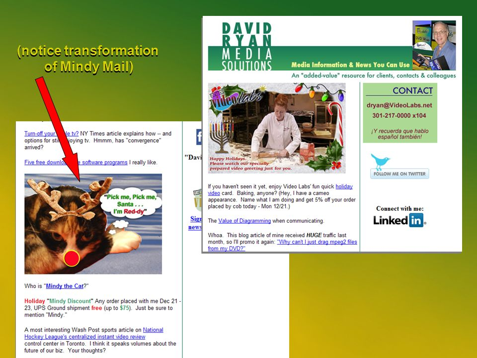 35 (notice transformation of Mindy Mail) (notice transformation of Mindy Mail)