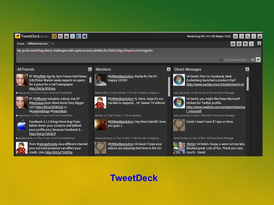 39 TweetDeck