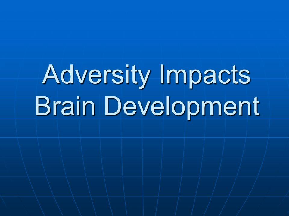 Adversity Impacts Brain Development