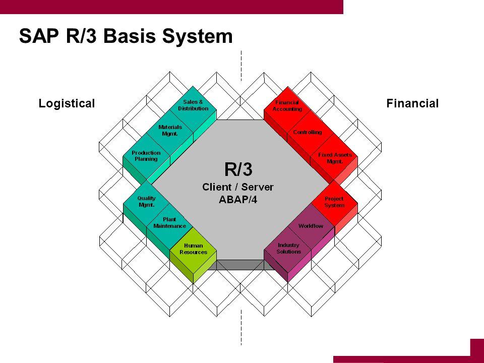 SAP R/3 Basis System LogisticalFinancial