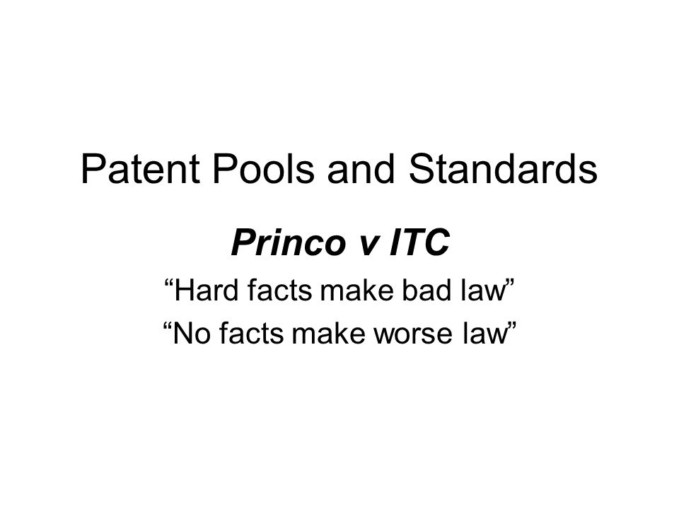 12 Patent Misuse Compared… Patent misuse –Applies to the patents enforcement outside of litigation, not litigation conduct.
