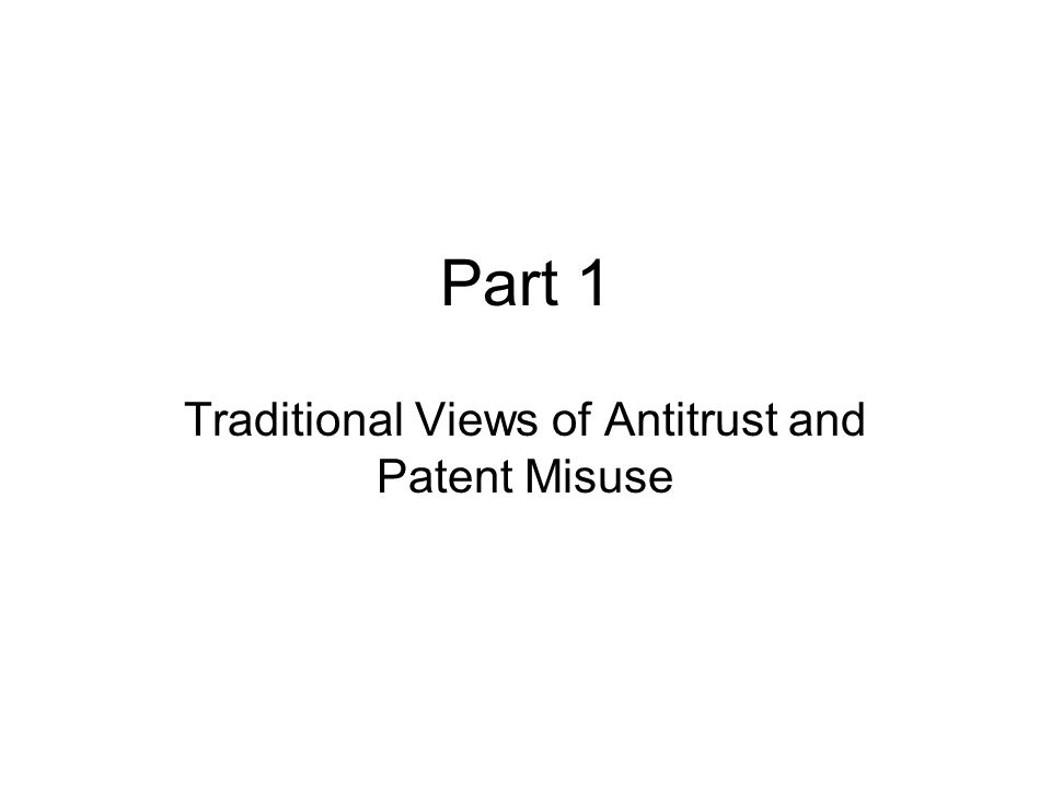 5 Antitrust Statutes –Sherman Act Section 1: Makes it a felony for two or more competitors to collude with each other in a way that restrains trade in a relevant market.
