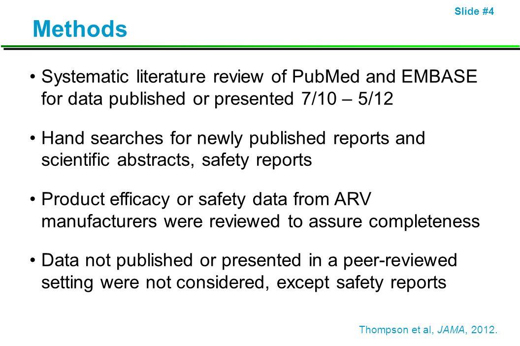 Slide #5 When to Start Antiretroviral Therapy