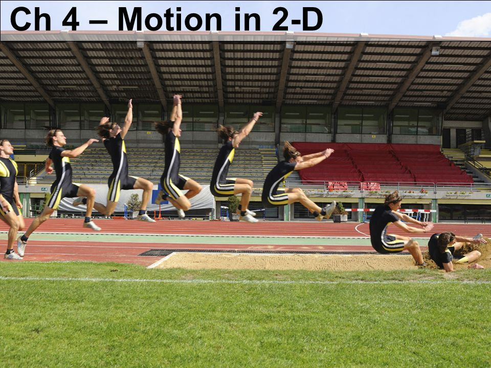 Ch 4 – Motion in 2-D