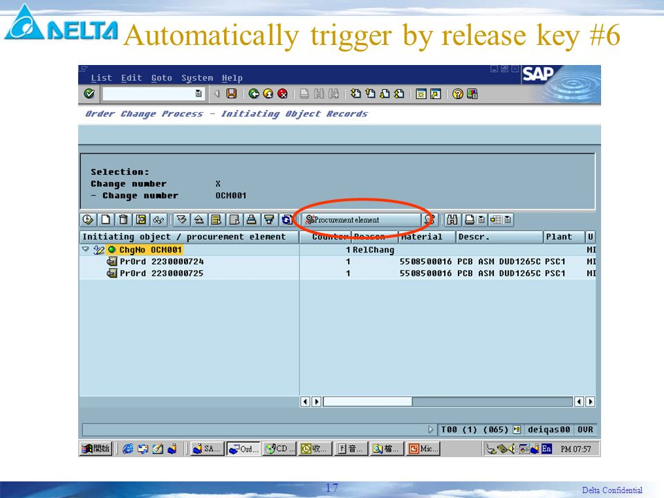Delta Confidential 17 Automatically trigger by release key #6