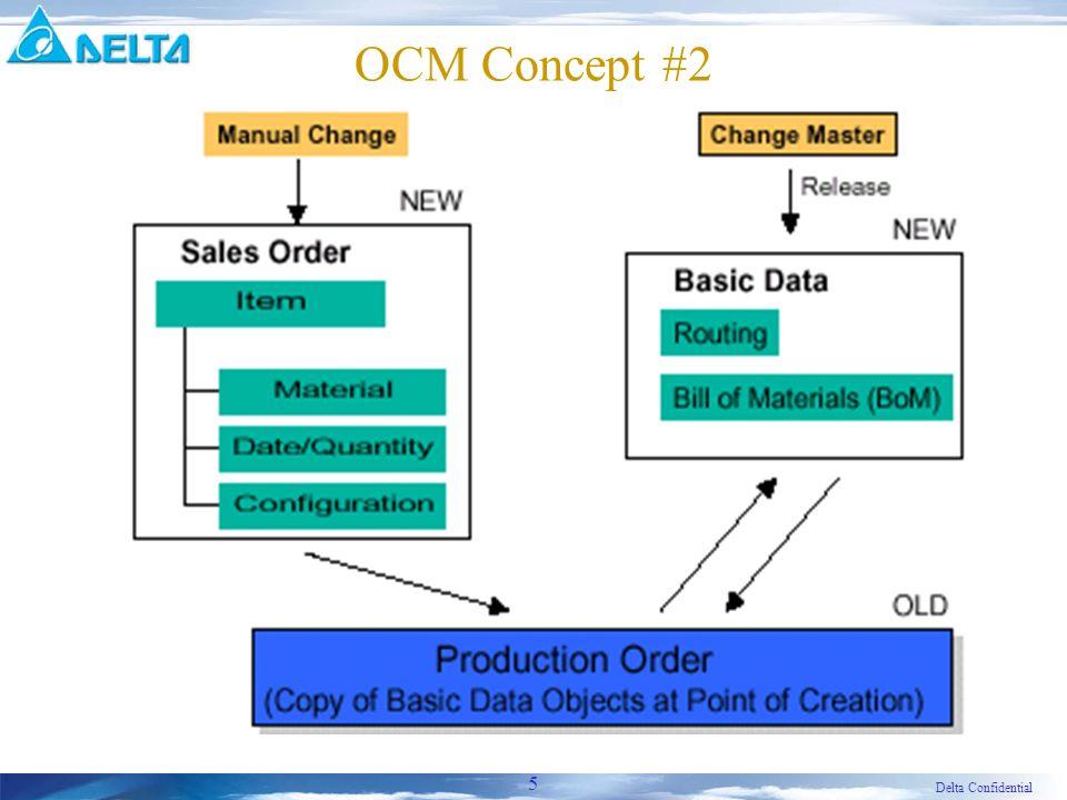 Delta Confidential 5 OCM Concept #2