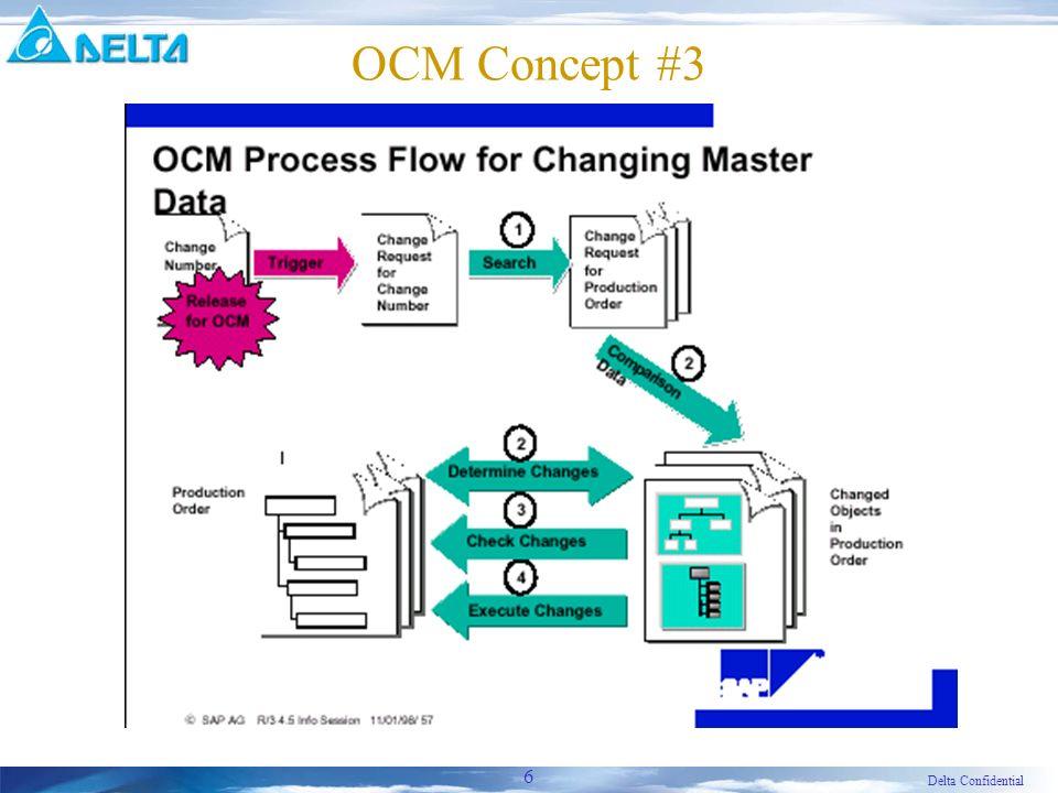 Delta Confidential 6 OCM Concept #3