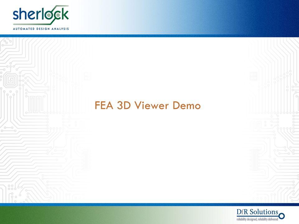 © 2004 - 2007© 2004 - 2010 FEA 3D Viewer Demo