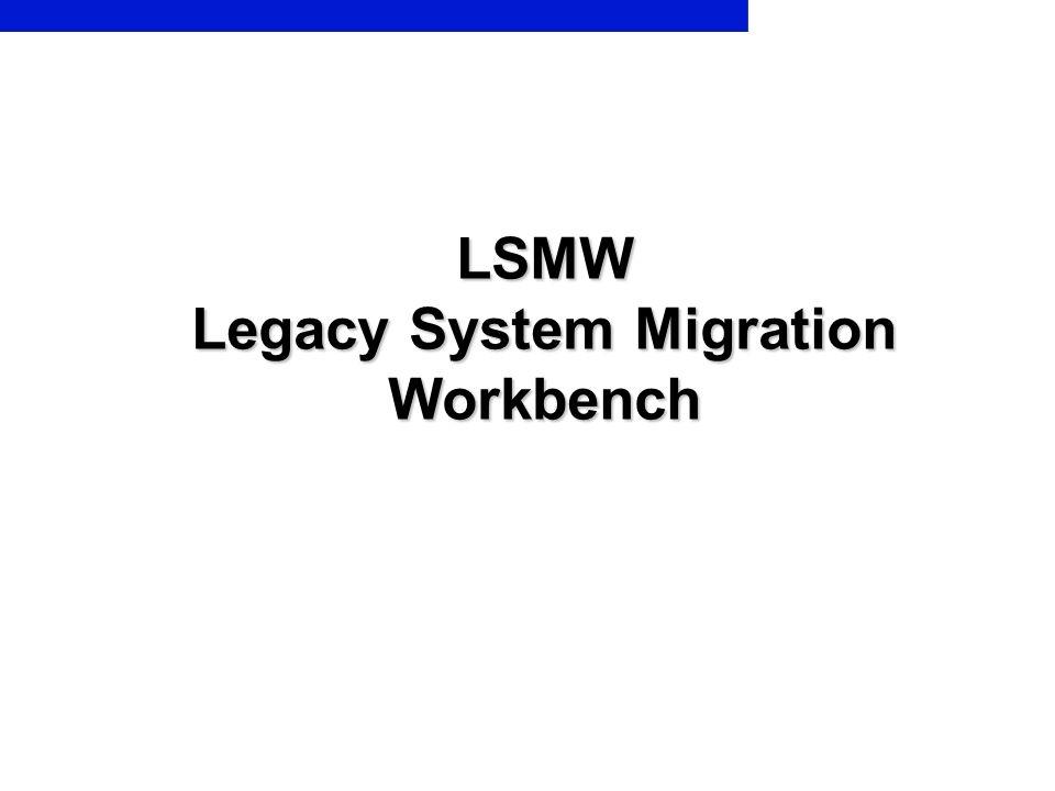 Legacy System Migration Workbench 1 PrepareMe 2 TellMe 3 ShowMe 4 LetMe 5 HelpMe