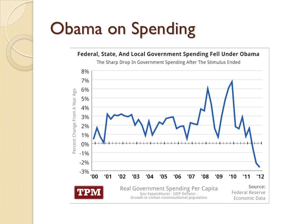 Obama on Spending