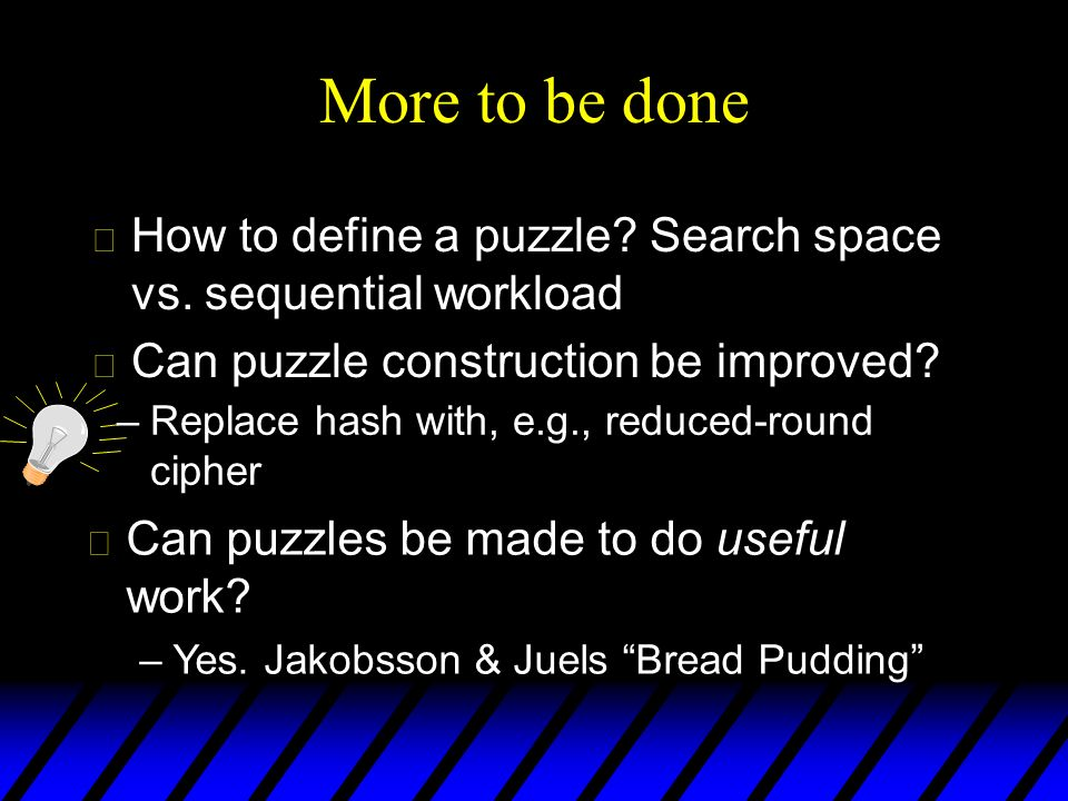 u How to define a puzzle. Search space vs.