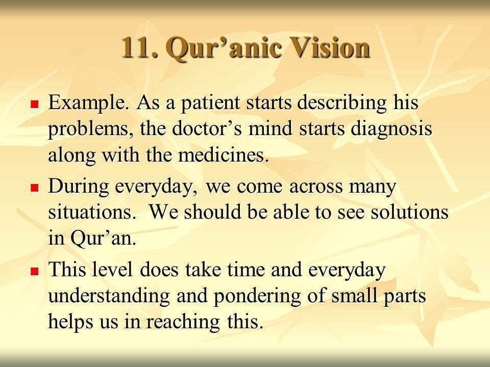 11. Quranic Vision Example.