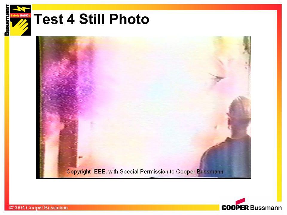 ©2004 Cooper Bussmann Test 4 Still Photo