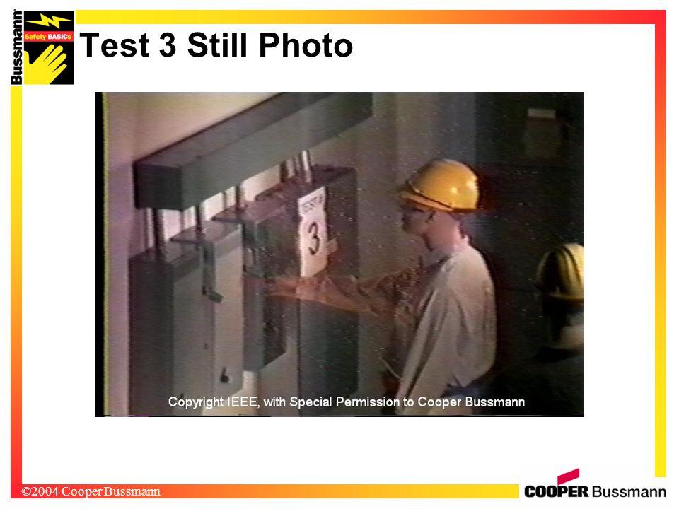 ©2004 Cooper Bussmann Test 3 Still Photo