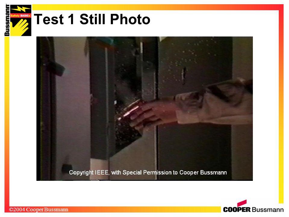 ©2004 Cooper Bussmann Test 1 Still Photo