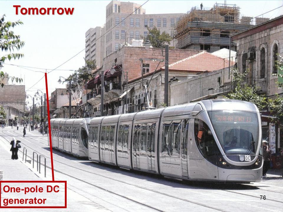 One-pole DC generator Tomorrow 76