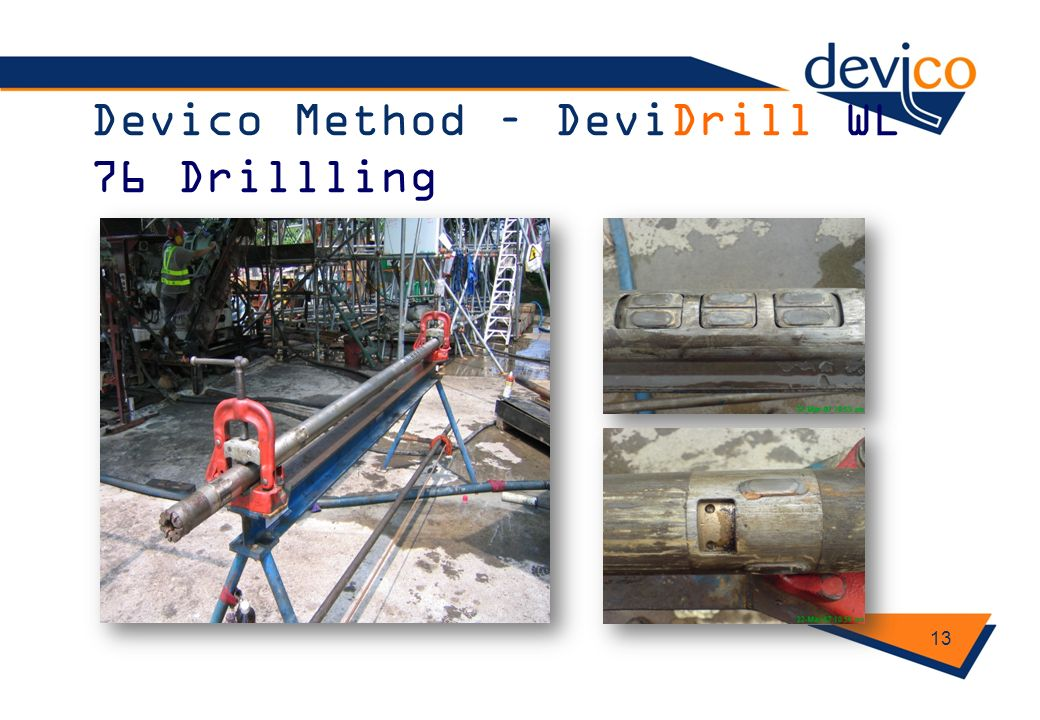 Devico Method – DeviDrill WL 76 Drillling 13