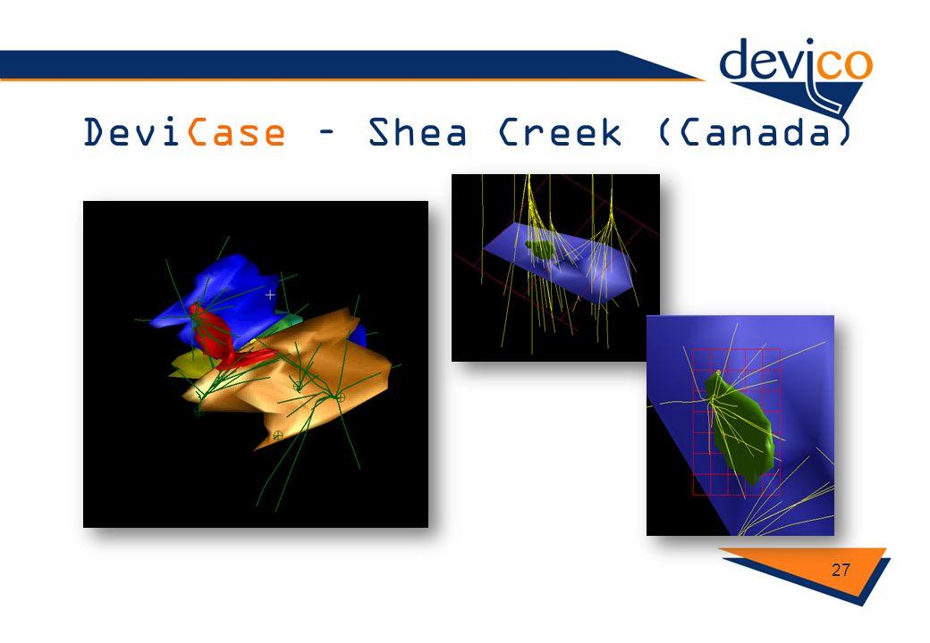 DeviCase – Shea Creek (Canada) 27