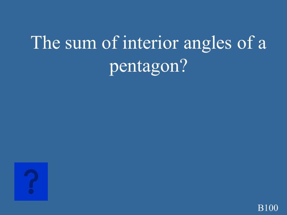 A500A 1/2aP a=apothem P=perimeter