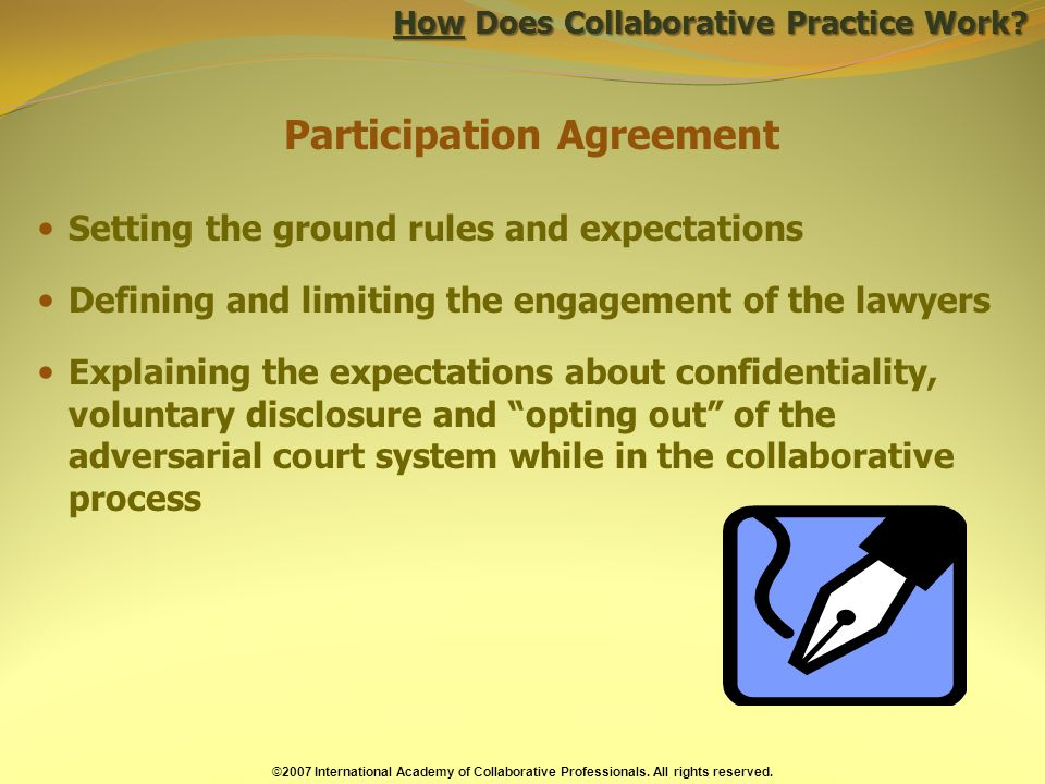 How Does Collaborative Practice Work.