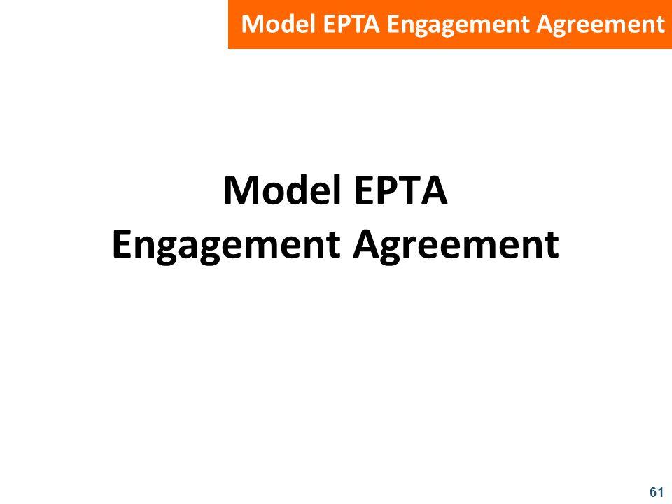 61 Model EPTA Engagement Agreement