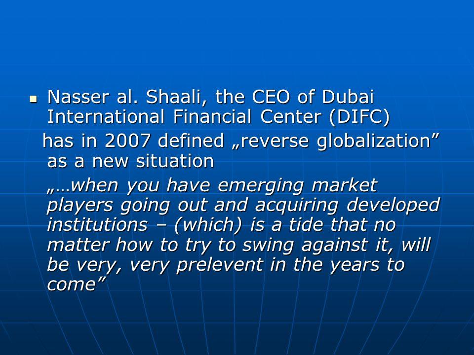 Nasser al. Shaali, the CEO of Dubai International Financial Center (DIFC) Nasser al. Shaali, the CEO of Dubai International Financial Center (DIFC) ha