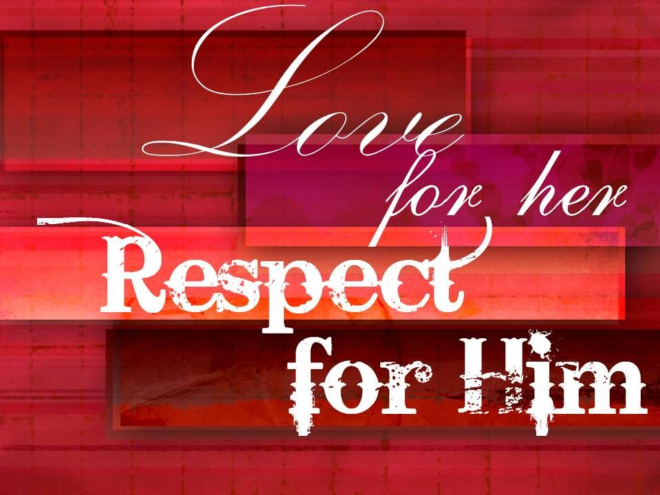 Unconditional respect does not mean a wife must be respectful of evil behavior.