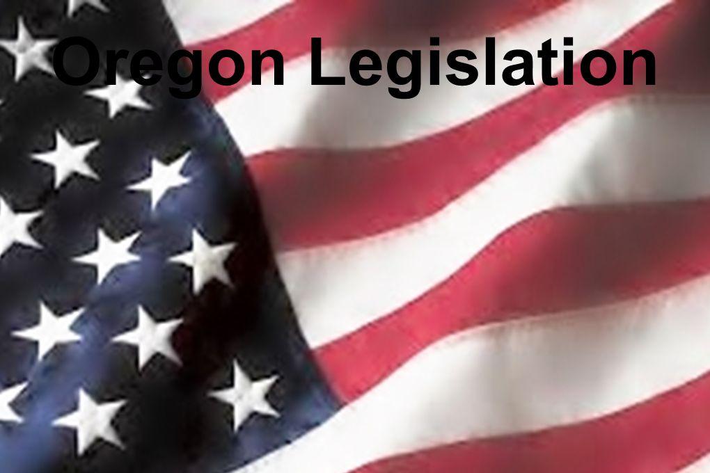 Oregon Legislation