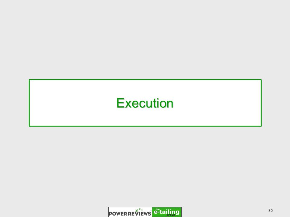 30 Execution