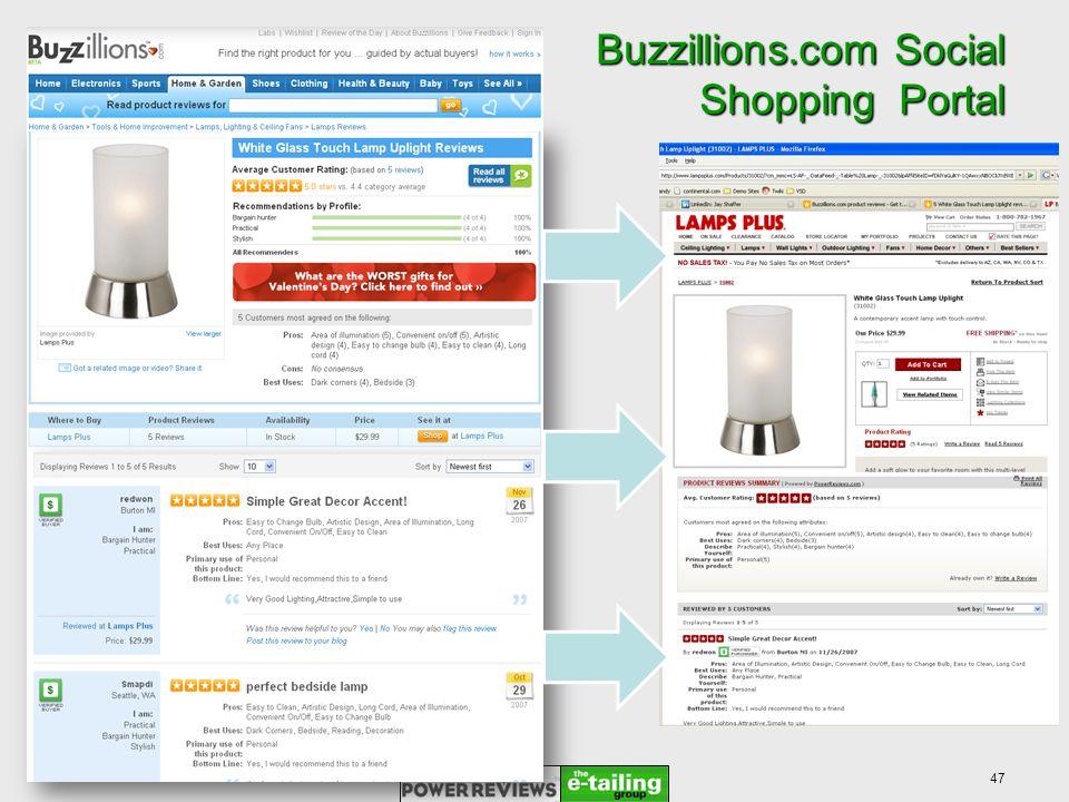 Buzzillions.com Social Shopping Portal 47