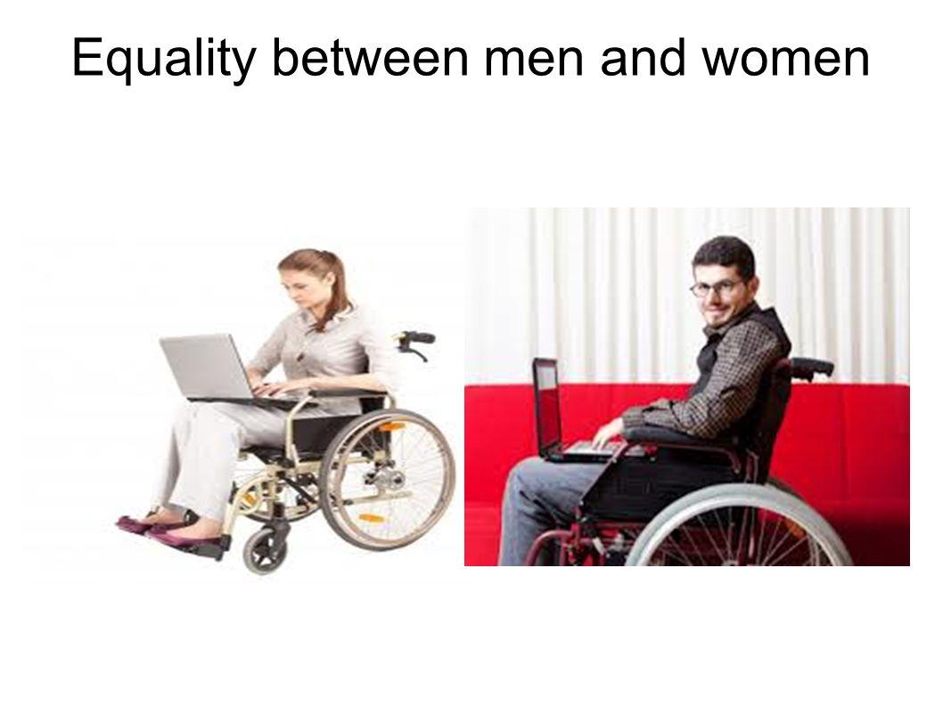 Equality between men and women
