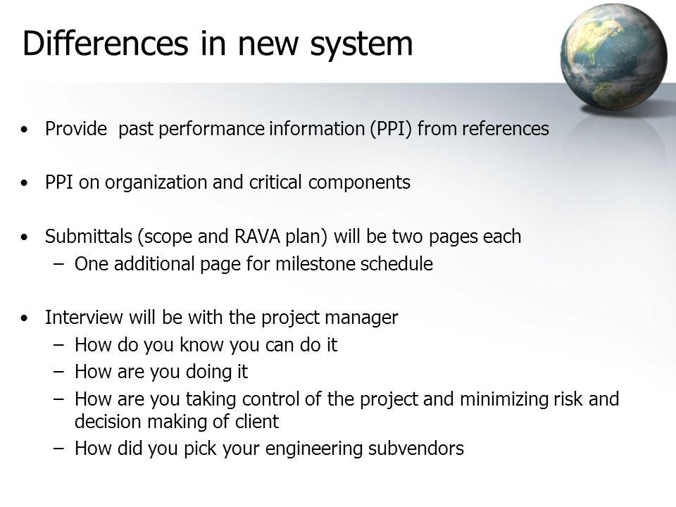 Filter 1 Past Performance Information Filter 2 Proposal & Risk / Value Plan Filter 4 Prioritize (Identify Best Value) Filter 5 Pre-Award Phase (Pre-Pl