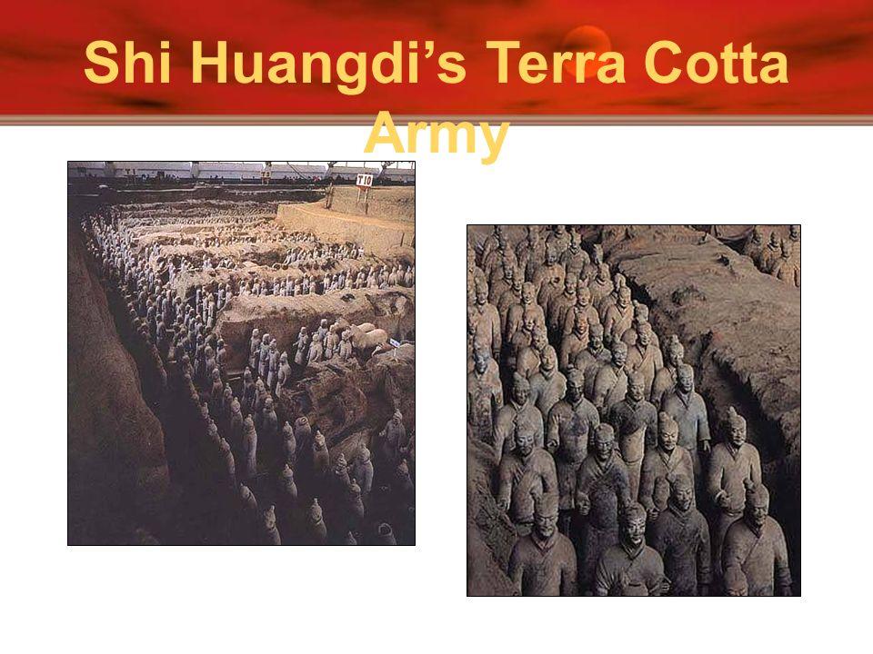 Shi Huangdis Terra Cotta Army