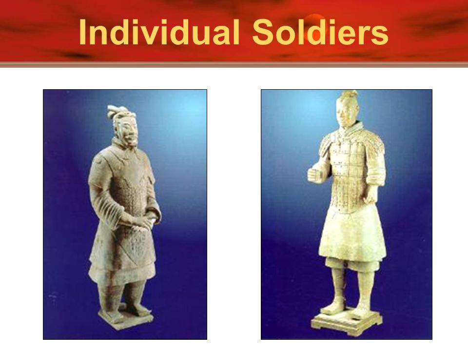 Individual Soldiers