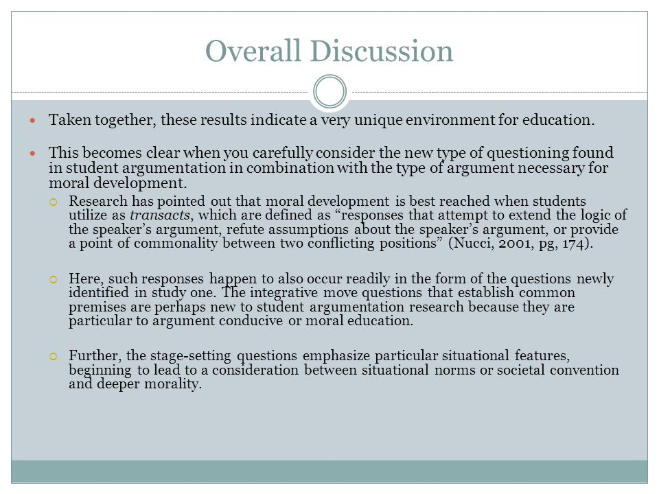 Overall Discussion Taken together, these results indicate a very unique environment for education.