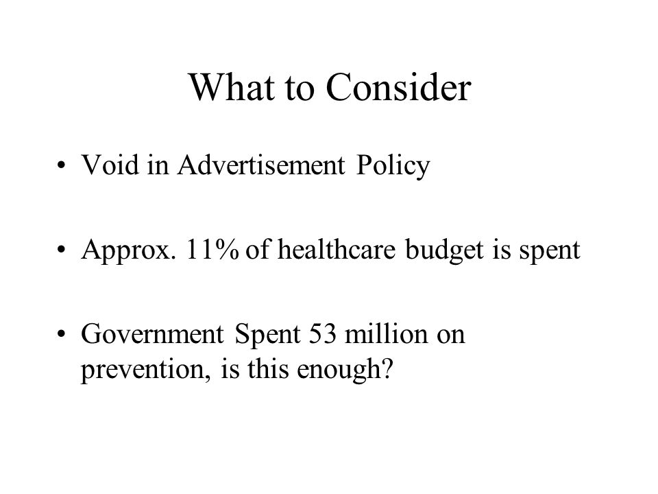 What to Consider Void in Advertisement Policy Approx.