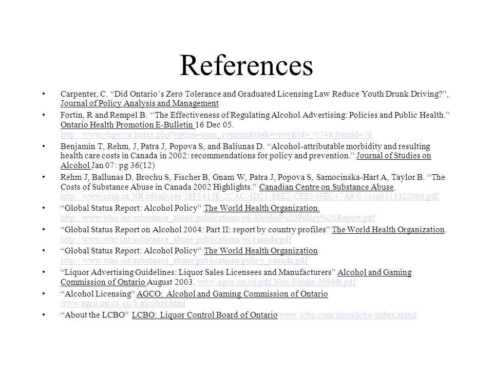 References Carpenter, C.