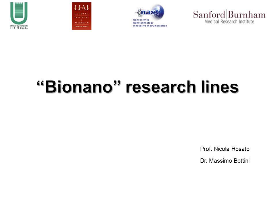 Prof. Nicola Rosato Dr. Massimo Bottini